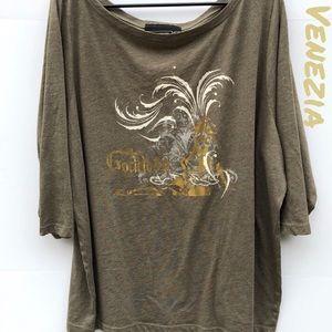 Venezia By Lane Bryant 26/28W Goddess T-shirt